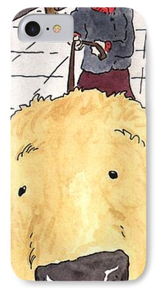 Dog In Your Face Comics IPhone Case by Danny Shanahan