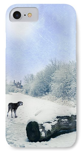 Dog Looking Back IPhone Case