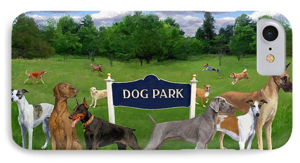 Dog Park IPhone Case