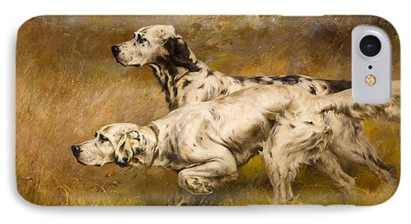 Dog IPhone Case by Percival Leonard Rosseau