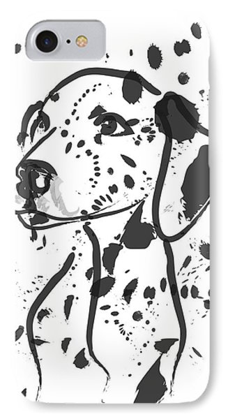 Dog Spot IPhone Case by Go Van Kampen