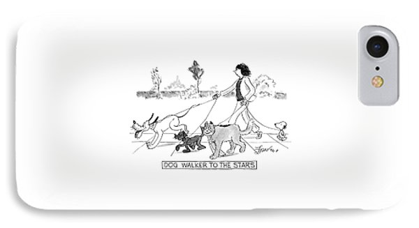 Dog Walker To The Stars IPhone Case