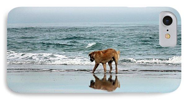 Dog Walking Phone Case by Cynthia Guinn