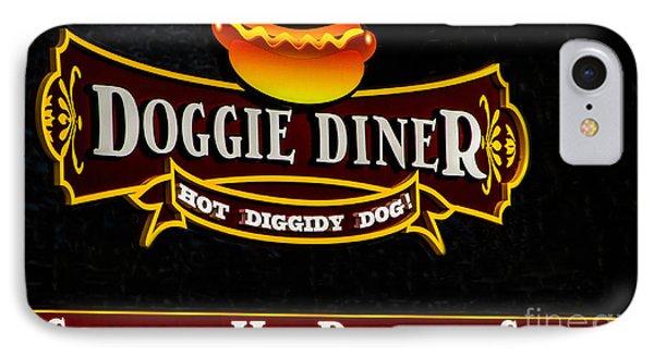 Doggie Diner Phone Case by Mitch Shindelbower