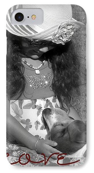 IPhone Case featuring the photograph Doggy Love  by Heidi Manly