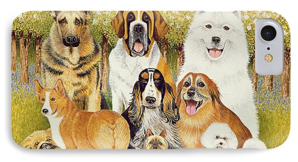 Dogs In May IPhone Case by Pat Scott
