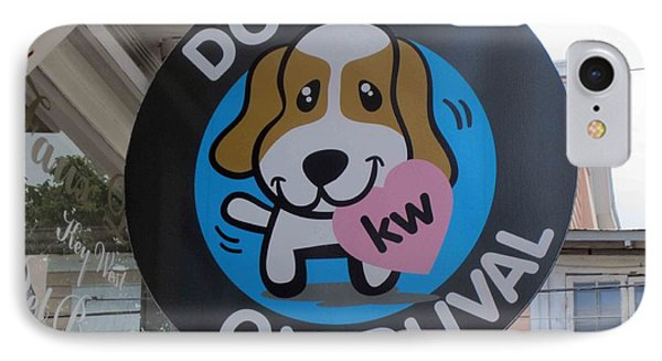 IPhone Case featuring the photograph Dogs On Duval by Fiona Kennard