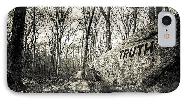 Dogtown Rocks With Inspirational Word IPhone Case by Panoramic Images