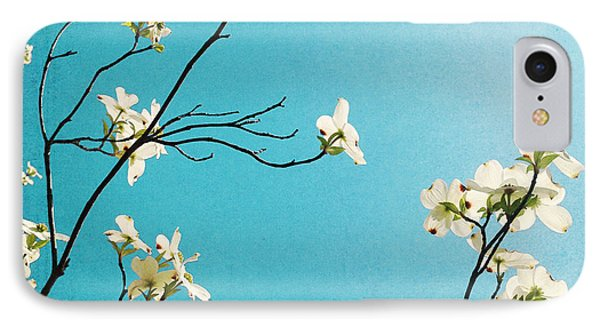 Dogwood Blooms IPhone 7 Case by Kim Fearheiley