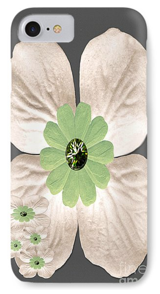 Dogwood Blossoms IPhone Case by Tina M Wenger