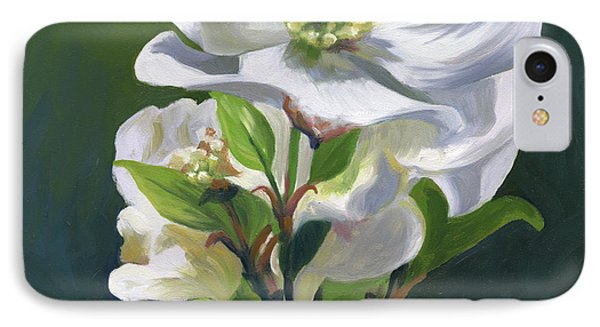 Dogwood Blossom IPhone Case by Alecia Underhill