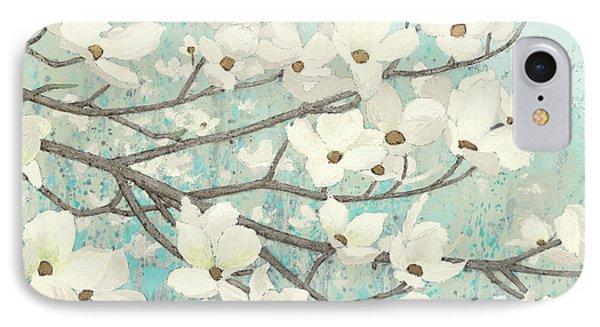 Dogwood Blossoms II IPhone Case