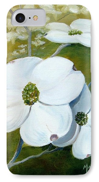 Dogwood Blossoms Phone Case by Mary Rogers