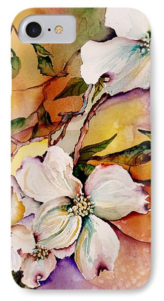 Dogwood In Spring Colors IPhone Case by Lil Taylor