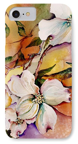 Dogwood In Spring Colors IPhone Case