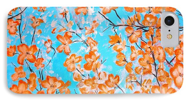 Dogwoods IPhone Case by Donna Dixon