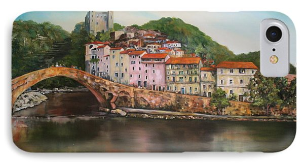 Dolceacqua Italy IPhone Case by Jean Walker