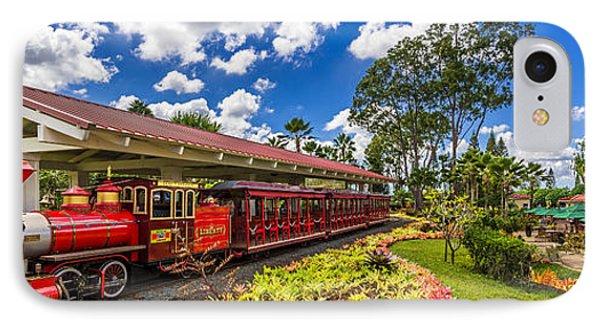 Dole Plantation Train 3 To 1 Aspect Ratio IPhone Case by Aloha Art