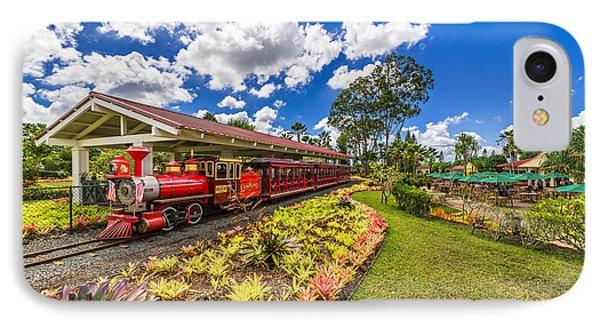 Dole Plantation Train IPhone Case by Aloha Art