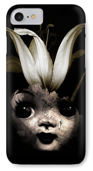 Doll Flower IPhone Case by Johan Lilja