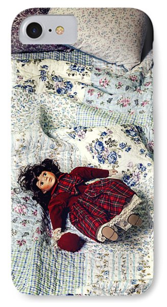 Doll On Bed IPhone Case