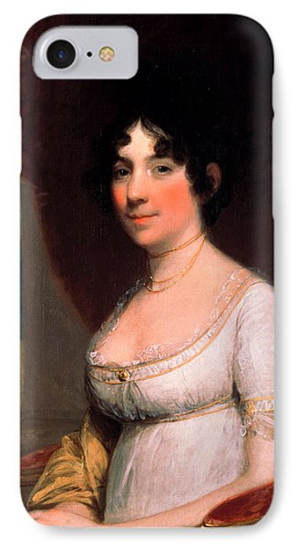 Dolley Payne Madison IPhone Case by Gilbert Stuart