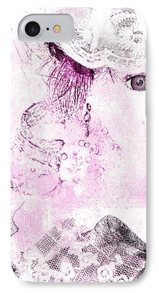 IPhone Case featuring the digital art Dolly by Davina Washington