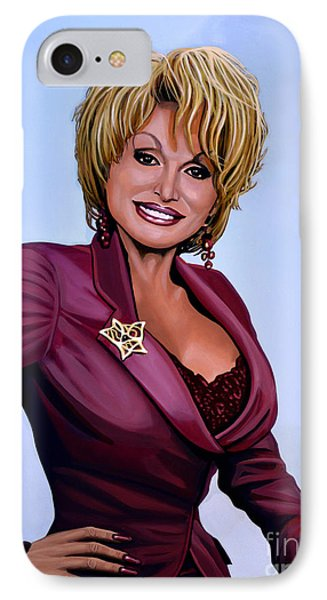 Dolly Parton Phone Case by Paul Meijering