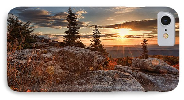 IPhone Case featuring the photograph Dolly Sods Morning by Jaki Miller