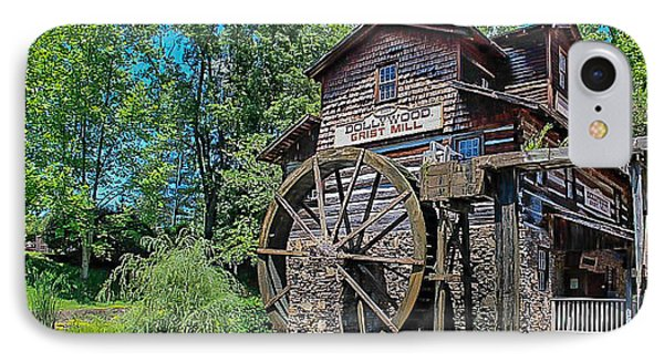 IPhone Case featuring the photograph Dollywood  by Trace Kittrell