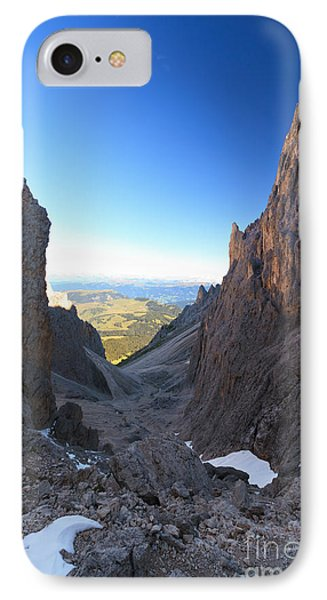 IPhone Case featuring the photograph Dolomites At Morning by Antonio Scarpi