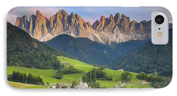 Dolomites From Val Di Funes IPhone Case