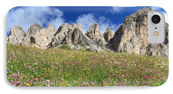 IPhone Case featuring the photograph Dolomiti - Flowered Meadow  by Antonio Scarpi