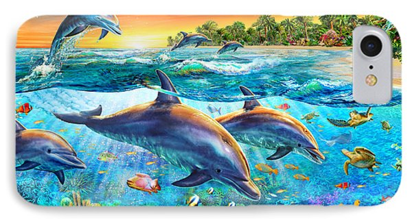 Dolphin Bay IPhone Case