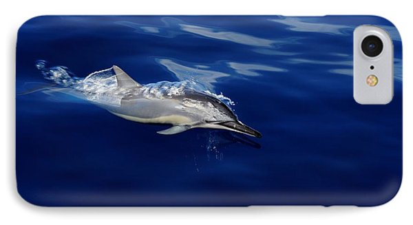 Dolphin Breaking Free Phone Case by John  Greaves