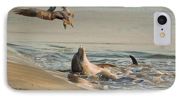 IPhone Case featuring the photograph Dolphin Joy by Patricia Schaefer