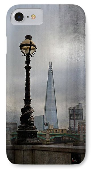 Dolphin Lamp Posts London IPhone Case by Lynn Bolt