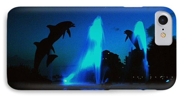 Dolphins At Dusk IPhone Case