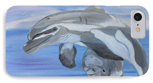 Sublime Dolphins IPhone Case by Meryl Goudey