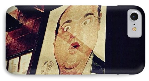Dom Deluise IPhone Case by Natasha Marco
