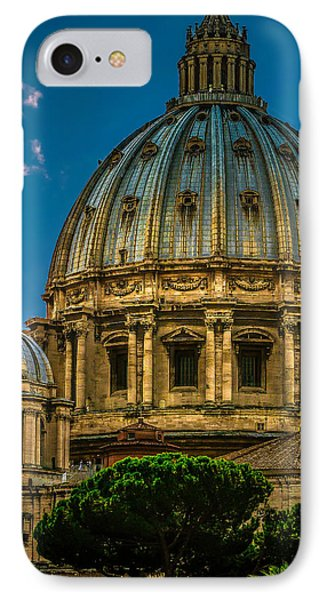 IPhone Case featuring the photograph Dome Of Michelangelo by Rob Tullis