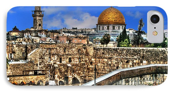 IPhone Case featuring the photograph Dome Of The Rock by Doc Braham