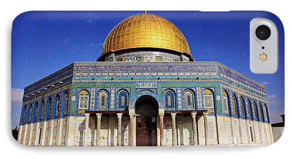 Dome Of The Rock Phone Case by Stephen Stookey