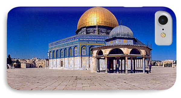Dome Of The Rock, Temple Mount IPhone Case by Panoramic Images