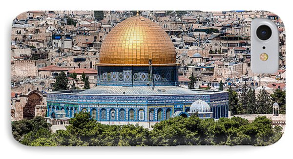 IPhone Case featuring the photograph Dome Of The Rock by Uri Baruch