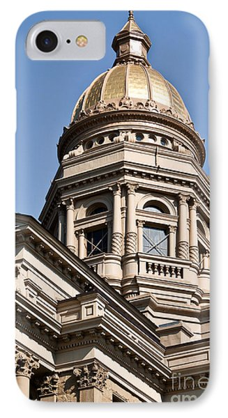 Dome On Capital IPhone Case