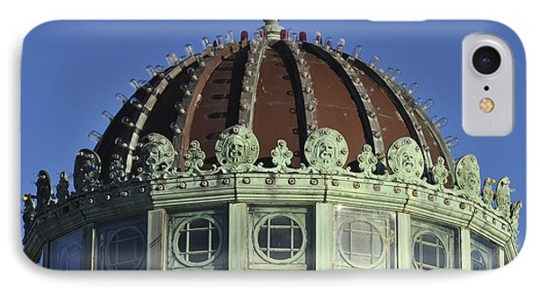 Dome Top Of Carousel House Asbury Park Nj IPhone Case by Terry DeLuco