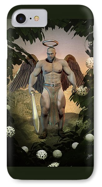 Dominant Angel IPhone Case by Quim Abella