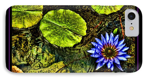 Dominican Pond IPhone Case by Linda Olsen