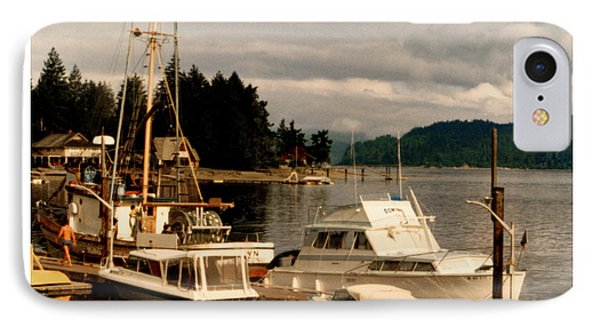 Domino At Alderbrook On Hood Canal IPhone Case by Jack Pumphrey